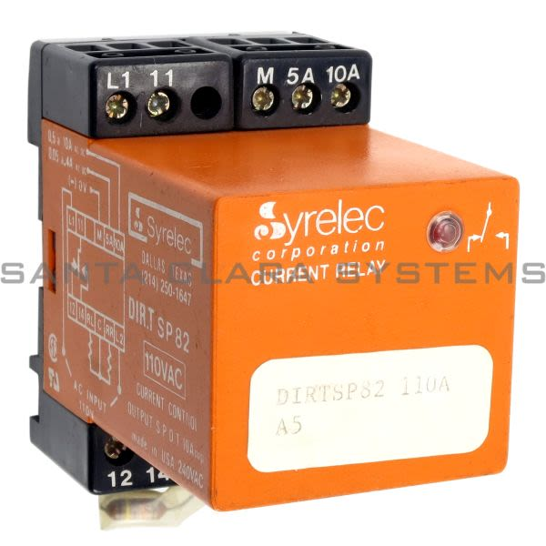 Crouzet DIRT SP82 110A  Current Relay Product Image