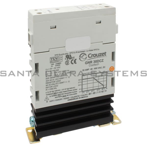 Crouzet GNR30DCZ Relay, 30 amp Product Image
