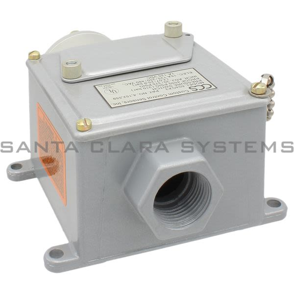 Custom Control Sensors 604GX3 CCS Gage Pressure Switch Product Image