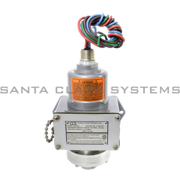 Custom Control Sensors 646GE1 Pressure Switch Product Image