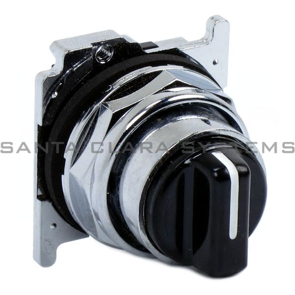 Cutler-Hammer 10250T1343 Selector Switch 3-Position Black | Eaton 10250T1343 Product Image