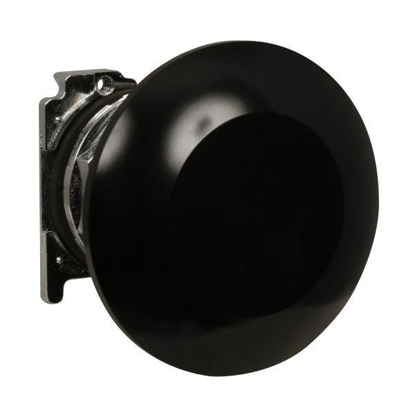 Cutler-Hammer 10250T171 Pushbutton Jumbo Mushroom Head Black | Eaton 10250T-171 Product Image