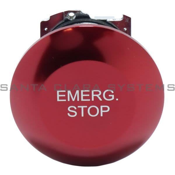 Cutler-Hammer 10250T17213 Pushbutton Jumbo Mushroom Red Emerg. Stop Product Image