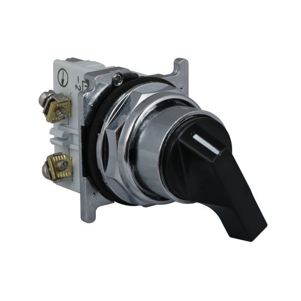 Cutler-Hammer 10250T20LB Selector Switch 2-Pos Black | Eaton Product Image