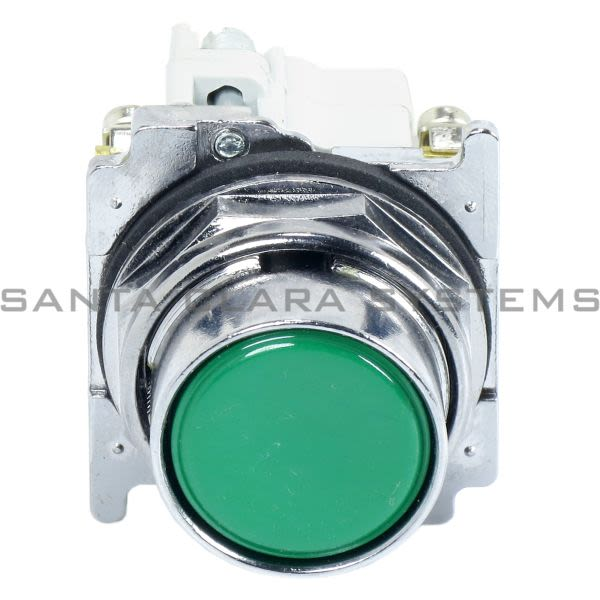 Cutler-Hammer 10250T23G Pushbutton Green | 10250T-23G Product Image