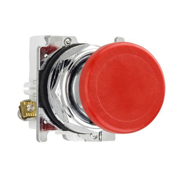 Cutler-Hammer 10250T26R Pushbutton 30.5-MM Red Mushroom | Eaton Product Image