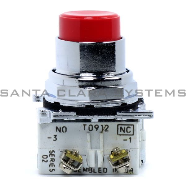 Cutler-Hammer 10250T31R Push Button Red   Eaton Product Image