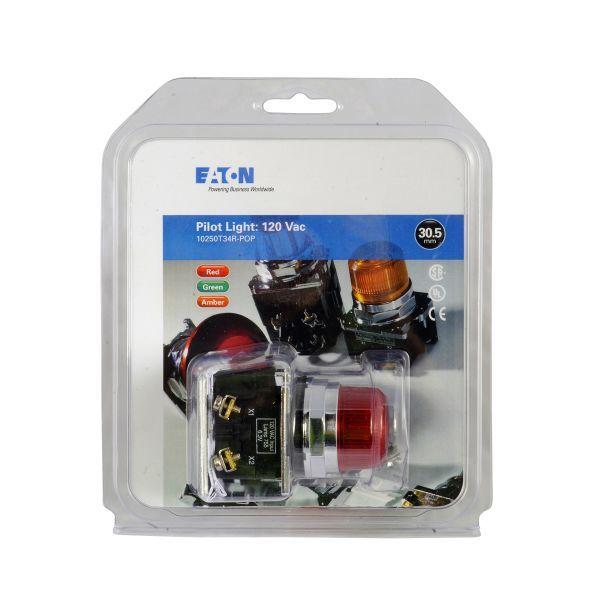 Cutler-Hammer 10250T34R-POP Pilot Light Red   10250ED1302-9 Product Image