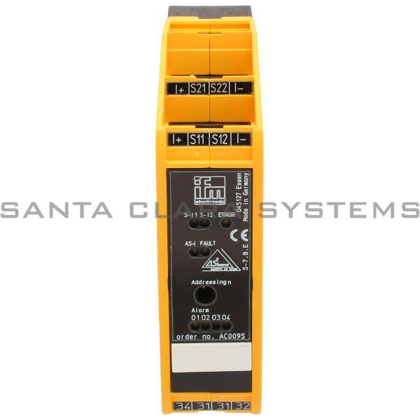 Efector AC009S Safe Active AS-i Module | Smartline Safetymodule Product Image