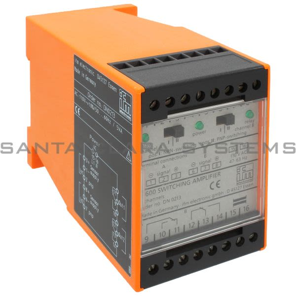 Efector DN0213 Amplifier | N600/110VAC/0.08A Product Image