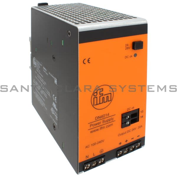 Efector DN4014 Power Supply | PSU-1AC/24VDC-20A Product Image