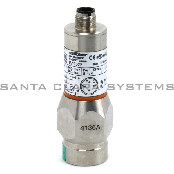 Efector PA9022 Pressure Sensor   PA-100-SBR14-B-DVG/US/V Product Image