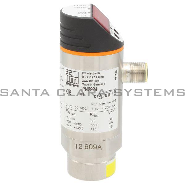 Efector PN2224 Pressure Sensor   PN-010-RBN14-MFRKG/US/ /V Product Image