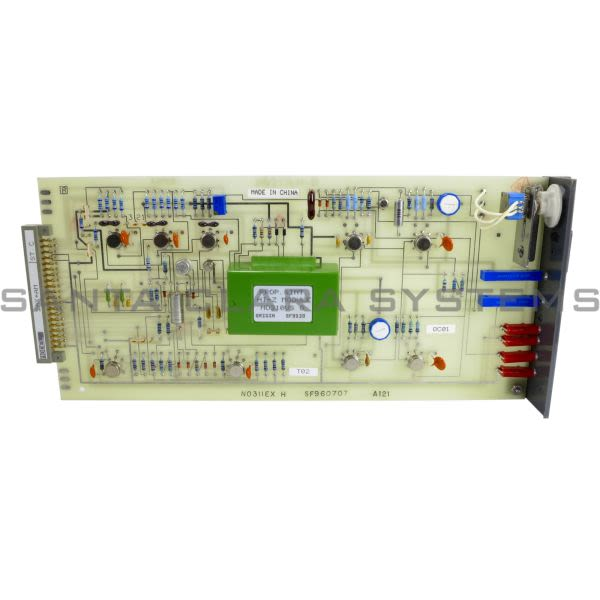 Foxboro 2AX-AM Control Board Product Image