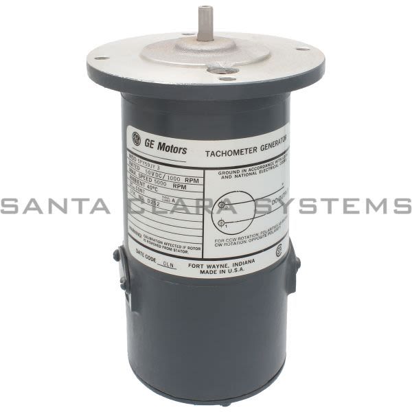 General Electric 5PY59JY3 Tachometer Generator Product Image