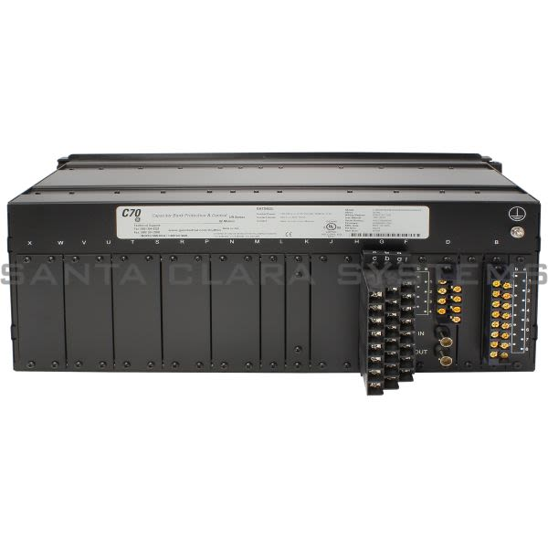 General Electric C70-E00-HKH-F8L-HXX-MXX-PXX-UXX-WXX  C70 Capacitor Bank Protection and Control System Product Image