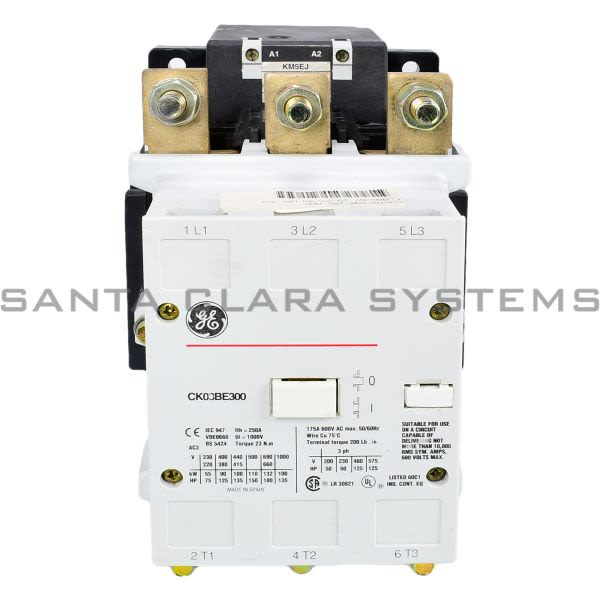 General Electric CK08BE300 Contactor Product Image