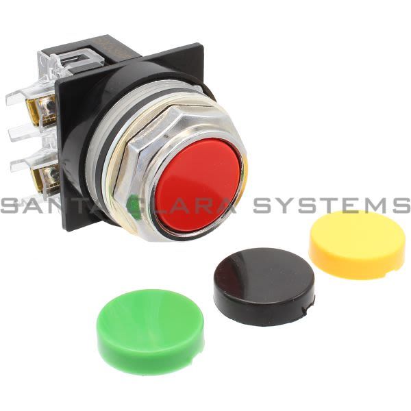 General Electric CR104PBG01U1 Pushbutton Black/Green/Red/Yellow Product Image