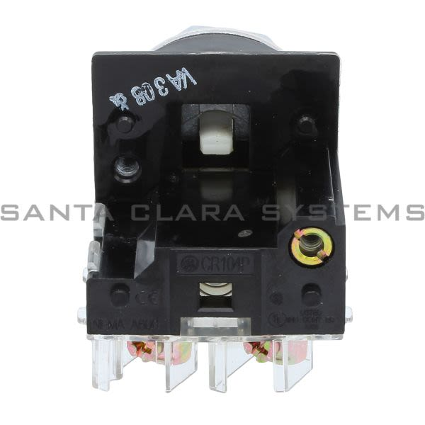 General Electric CR104PBG91V1 Push Button Flush 4 Color 1 NO 1 NC Product Image