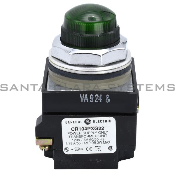 General Electric CR104PLG32G Indicator Light Green Product Image