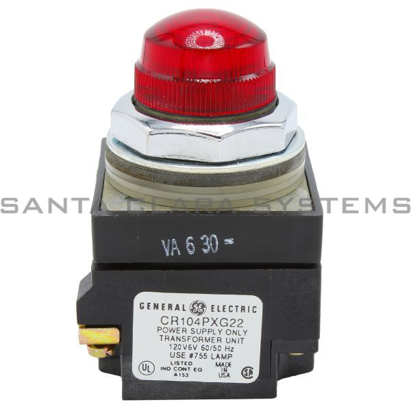 General Electric CR104PLG32R Pilot Light Red Product Image