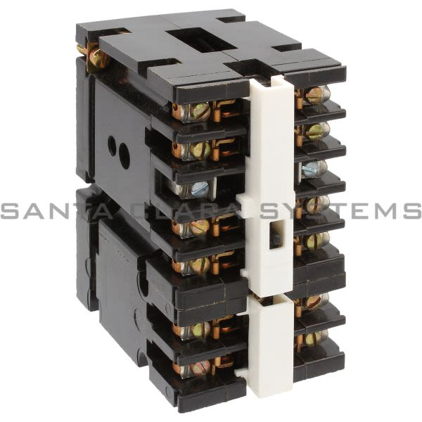 General Electric CR120A05102AA Relay 10AMP 6-Pole 5NO/1NC Product Image