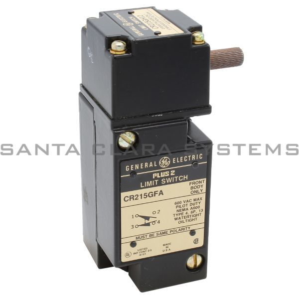 General Electric CR215G1A12 Limit Switch Product Image