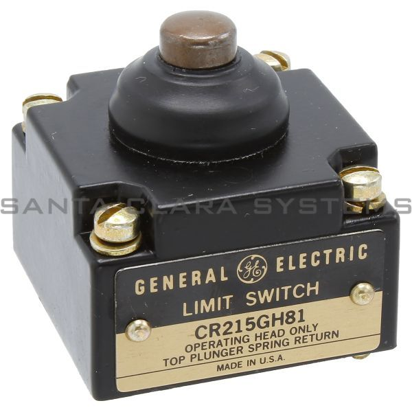 General Electric CR215GH81 Limit Switch Operating Head Product Image