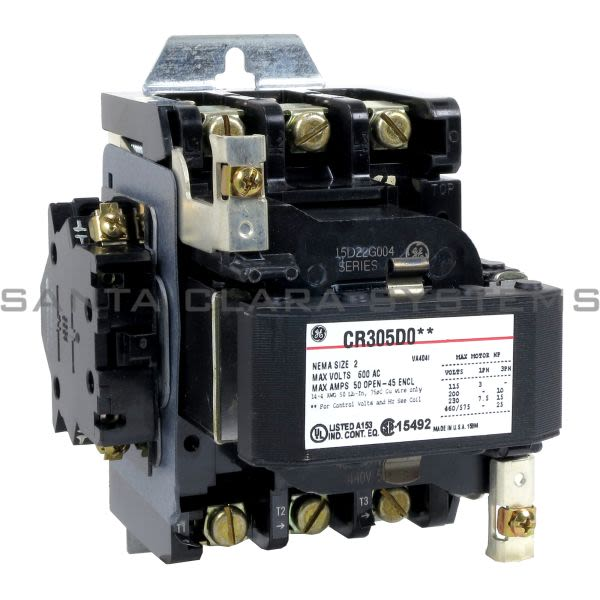 General Electric CR305D004 Contactor | CR305 460-480V Product Image
