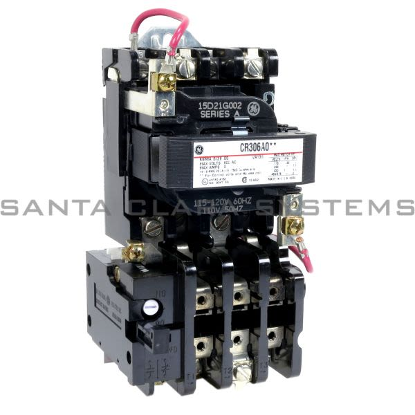 General Electric CR306A002 Starter | CR306 Size 00 Product Image