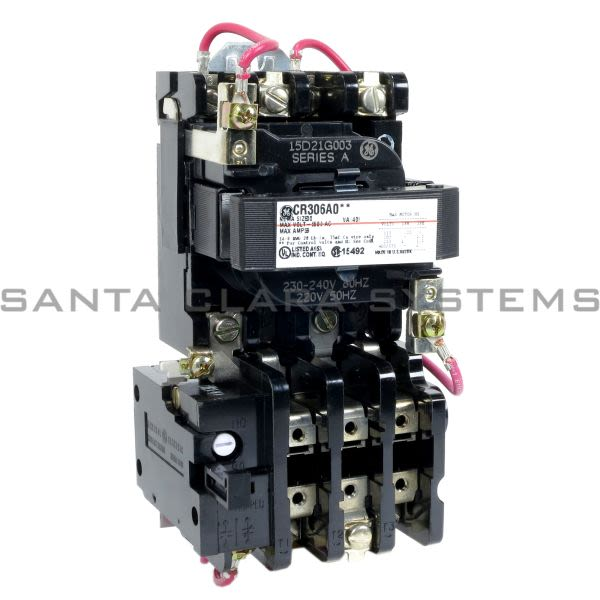 General Electric CR306A003 Starter | CR306 Size 00 Product Image