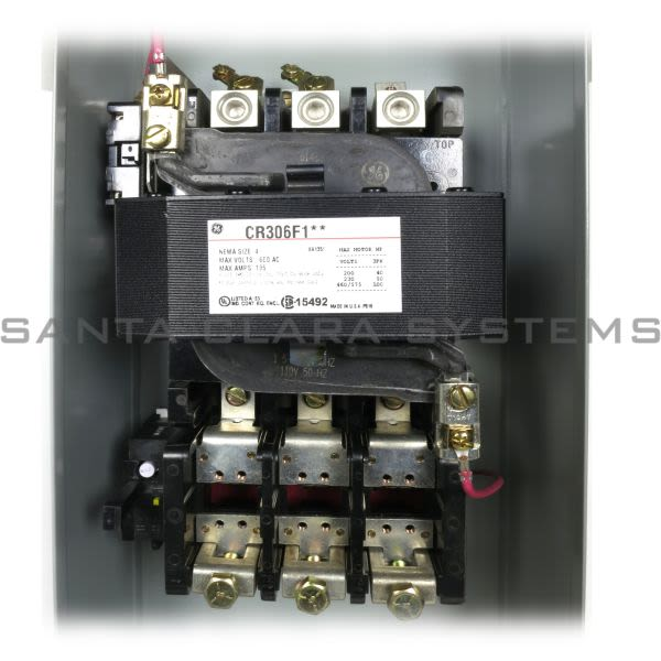 General Electric CR306F102 Starter | CR306 Size 4 Product Image