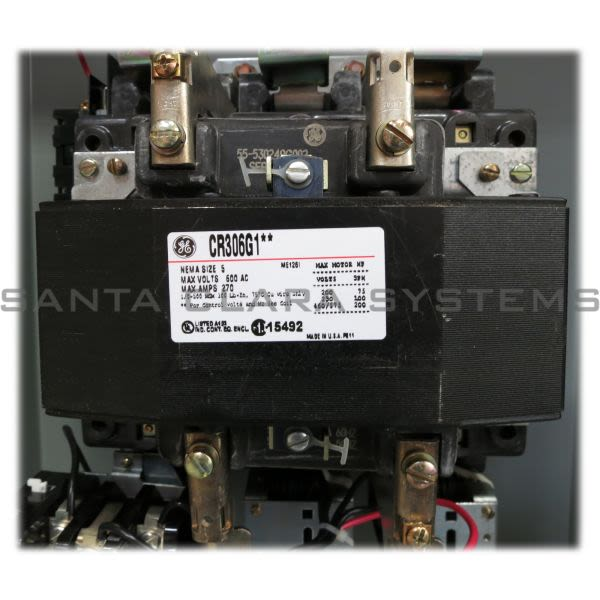 General Electric CR306G102 Starter | CR306 Size 5 Product Image