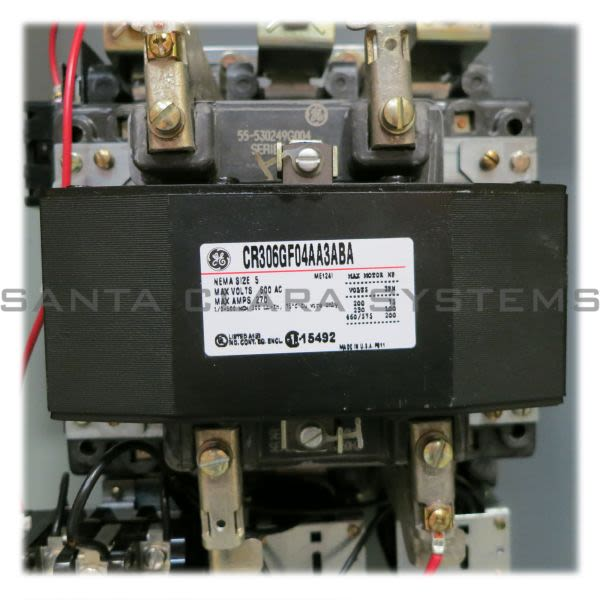 General Electric CR306G104 Starter | CR306 Size 5 Product Image