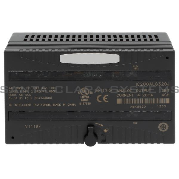 General Electric IC200ALG320 Output Module Product Image