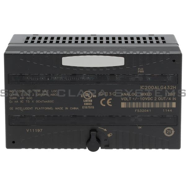 General Electric IC200ALG432 Analog Mixed 12Bit Product Image