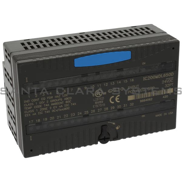 General Electric IC200MDL650 Input Module Product Image