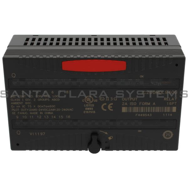 General Electric IC200MDL940 Output Relay Product Image