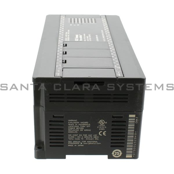 General Electric IC200UDR064 Versamax Micro 64 Point Controller Product Image