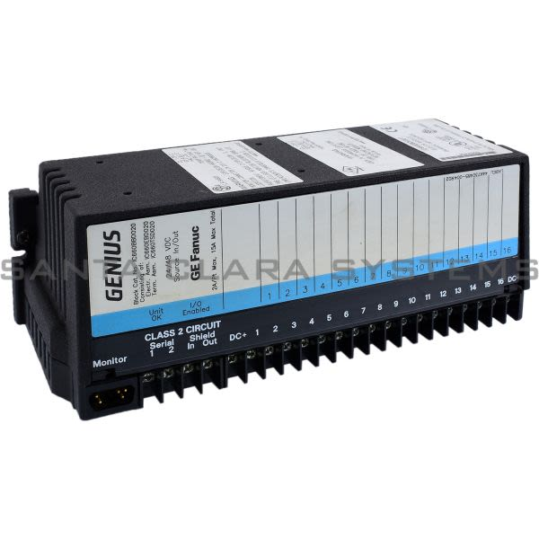 General Electric IC660BBD020 I/O Block Product Image