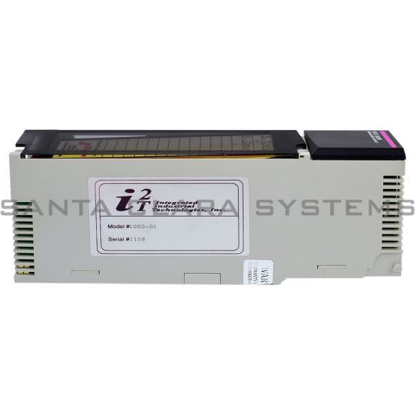 Integrated Industrial Technologies 1000-01  Ifc 020 Resolver Input Module Product Image