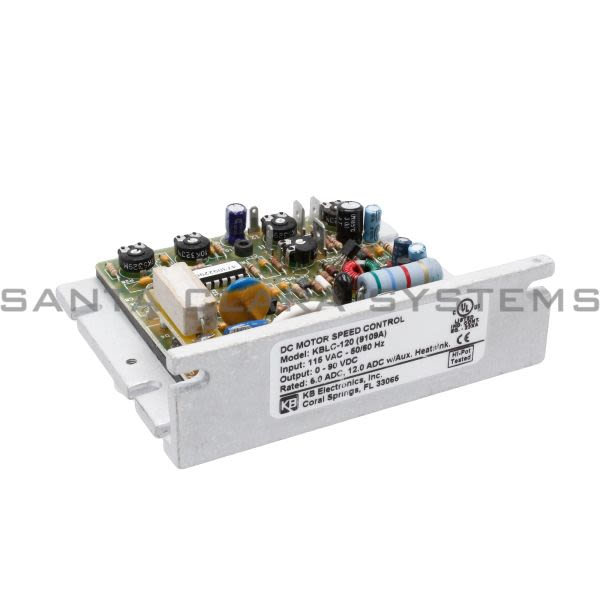 KB Electronics KBLC-120 DC Motor Speed Control Product Image