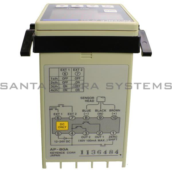 Keyence AP-80A Sensor Amplifier Product Image