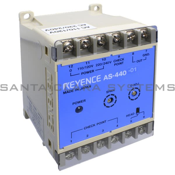 Keyence AS-440-01 Sensor Amplifier Product Image