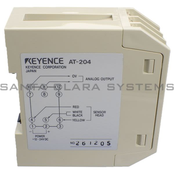 Keyence AT-204 Amplifier Unit Product Image