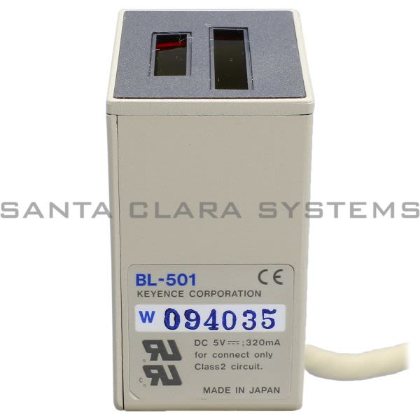 Keyence BL-501-SO-7035 Laser Barcode Scanner Product Image
