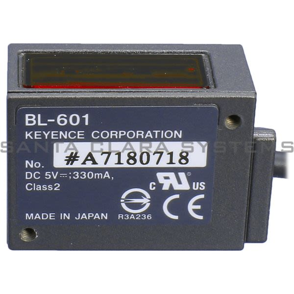 Keyence BL-601 Barcode Scanner Product Image
