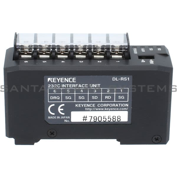 Keyence DL-RS1 Communication Module Product Image