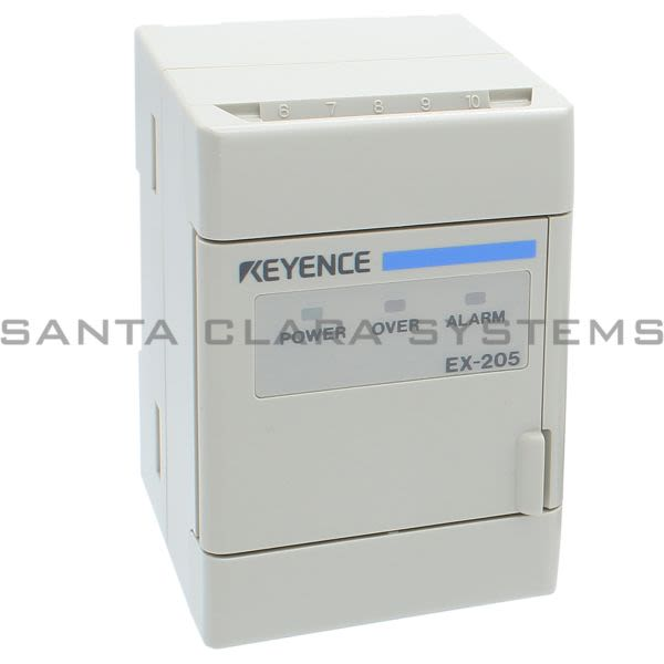Keyence EX-205 Inductive Sensor Amplifier Product Image