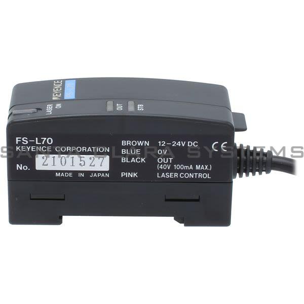 Keyence FS-L70 Laser Sensor Amplifier Product Image